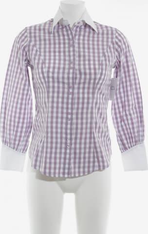TM Lewin Langarmhemd in XS in Weiß