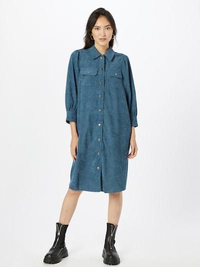 Kaffe Košeľové šaty 'Kaluma' - námornícka modrá, Model/-ka