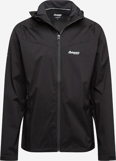 Bergans Veste outdoor en noir / blanc, Vue avec produit