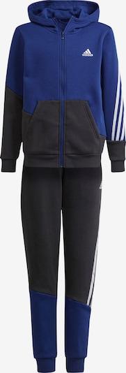 ADIDAS PERFORMANCE Trainingsanzug in dunkelblau / dunkelgrau / weiß, Produktansicht