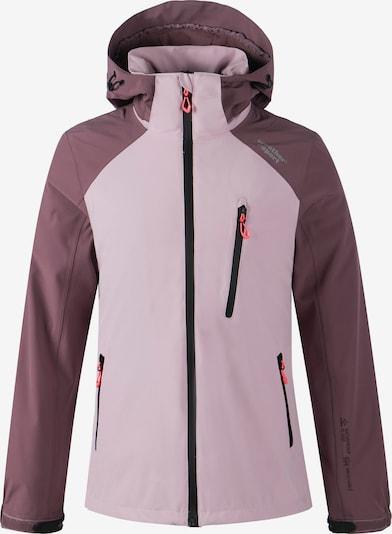 Weather Report Outdoorjas 'CAMELIA W-PRO15000' in de kleur Rosa / Bordeaux, Productweergave