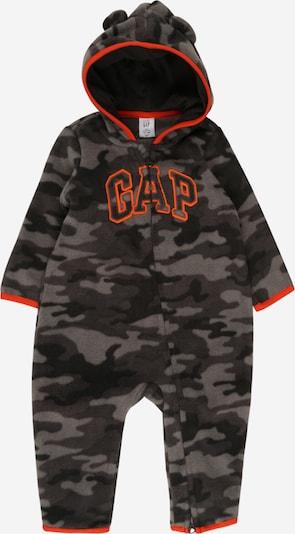 GAP Rompertje/body in de kleur Donkergrijs / Grijs gemêleerd / Neonoranje / Zwart, Productweergave