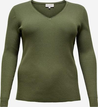 ONLY Carmakoma Džemperis 'SIMONE', krāsa - zaļš, Preces skats