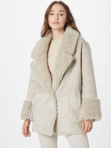 balta PATRIZIA PEPE Žieminis paltas 'GIUBBOTTO'