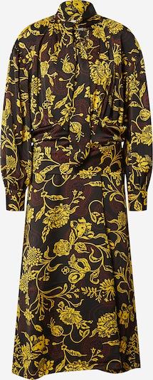 DAY BIRGER ET MIKKELSEN Obleka 'Tabitha' | rumena / temno rdeča / črna barva, Prikaz izdelka
