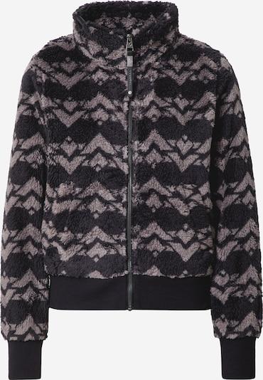 szürke / fekete Ragwear Polár dzseki 'Aztecan', Termék nézet