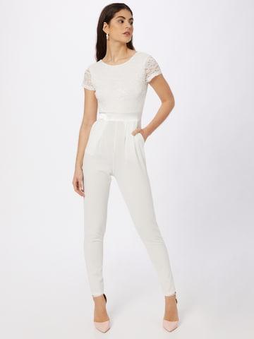 Tuta jumpsuit di WAL G. in bianco