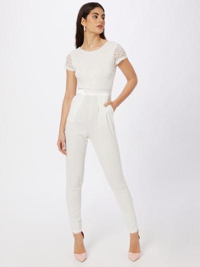 WAL G. Combinaison en blanc, Vue avec modèle