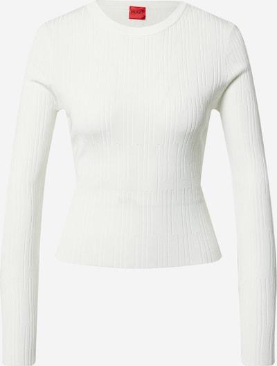 HUGO Pullover in naturweiß, Produktansicht