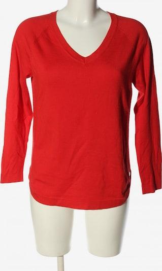 Adolfo Dominguez V-Ausschnitt-Pullover in S in rot, Produktansicht