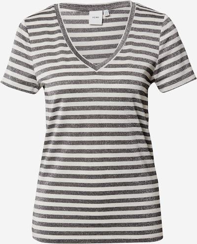 ICHI Shirt 'WYRA' in schwarz / weiß, Produktansicht