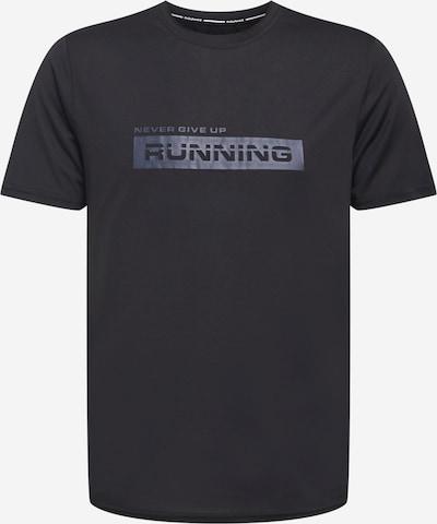 Tricou funcțional 'Carbont' ENDURANCE pe gri / negru, Vizualizare produs