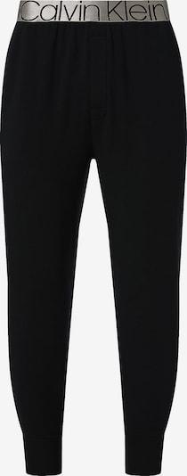 Pantaloni con pieghe Calvin Klein Underwear di colore nero, Visualizzazione prodotti