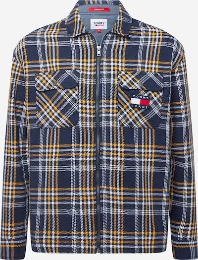 Tommy Jeans Prechodná bunda - námornícka modrá / žltá / červená / biela, Produkt