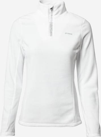 PROTEST Bluzka sportowa 'MUTEZ' w kolorze biały
