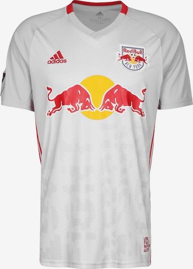 ADIDAS PERFORMANCE Trikot 'New York Red Bulls Home 2019/2020' in grau / rot / weiß, Produktansicht
