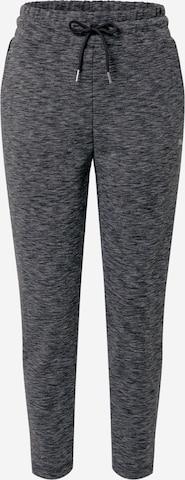 PUMA Спортен панталон 'Evostripe' в сиво