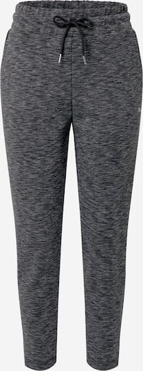 PUMA Športne hlače 'Evostripe' | svetlo siva / pegasto siva / črna barva, Prikaz izdelka