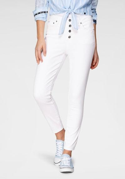 HIS JEANS Jeans in weiß, Modelansicht