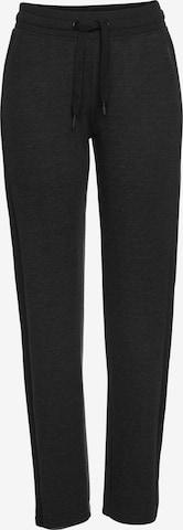 BENCH Hose 'Lounge Pants' in Schwarz