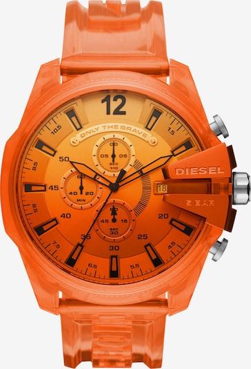 DIESEL Uhr in orange, Produktansicht