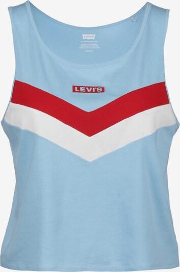 LEVI'S Top ' Florence' in blau / rot / weiß, Produktansicht