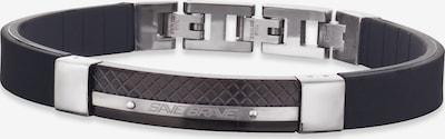SAVE BRAVE Armband 'Ray' in schwarz / silber, Produktansicht