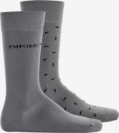 Emporio Armani Socken in grau, Produktansicht