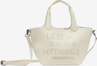 DreiMaster Maritim Handtasche in wollweiß, Produktansicht