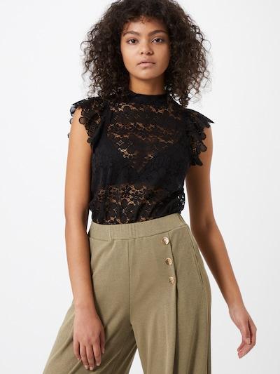 JACQUELINE de YONG Bluza 'Blond' | črna barva, Prikaz modela