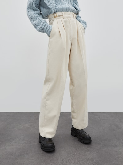 EDITED Jeans 'Chiara' in beige, Modelansicht