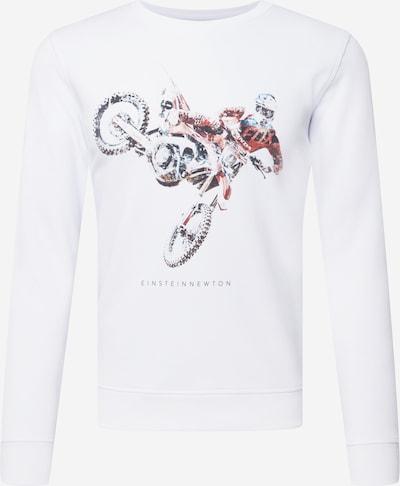 Bluză de molton EINSTEIN & NEWTON pe turcoaz / roşu închis / negru / alb, Vizualizare produs