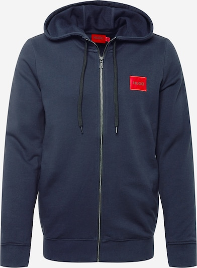 HUGO Sportiska jaka 'Daple212', krāsa - tumši zils / sarkans / melns, Preces skats