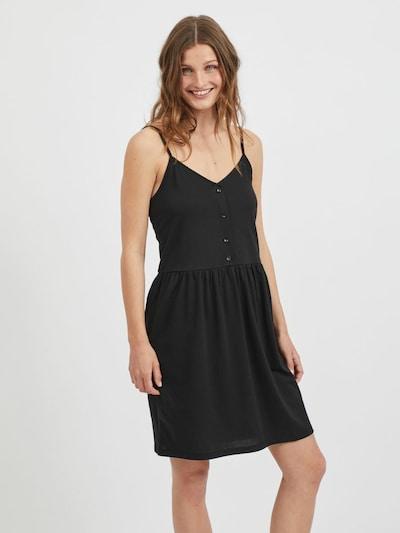 VILA Kleid 'Dreamers' in schwarz, Modelansicht