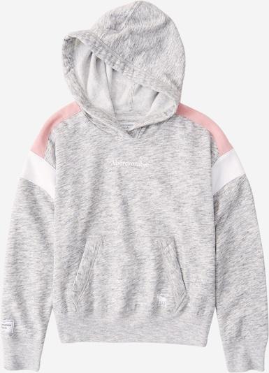 Abercrombie & Fitch Sweatshirt in hellgrau / rosa / weiß, Produktansicht