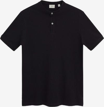 MANGO MAN Shirt in schwarz, Produktansicht
