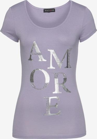 MELROSE Shirt in flieder / silber, Produktansicht