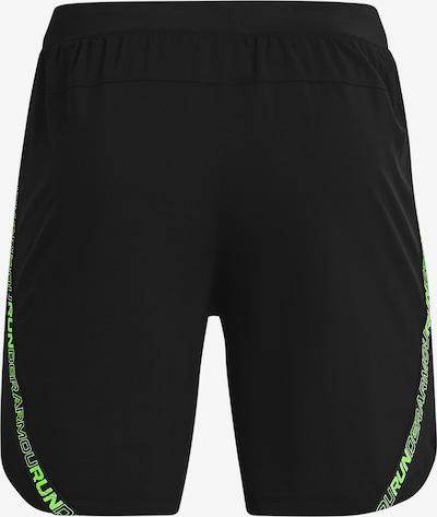 UNDER ARMOUR Sportbroek 'Launch' in de kleur Kiwi / Zwart, Productweergave