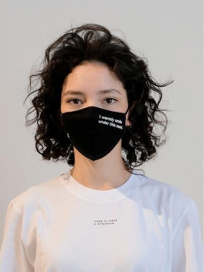 ARMEDANGELS Stoffmasken 2er Pack 'REDAAV 2.0' in schwarz: Frontalansicht