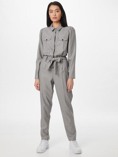 NAF NAF Jumpsuit in de kleur Bruin / Zwart / Wit, Modelweergave