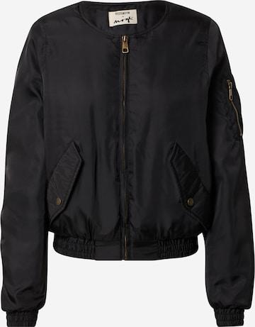 ABOUT YOU x MOGLI Between-Season Jacket 'Tara' in Black