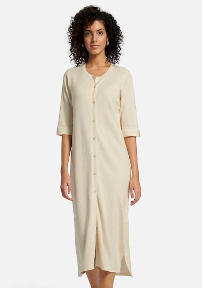 Peter Hahn Kleid in beige / creme / weiß, Modelansicht