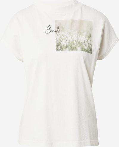 Maloja T-Shirt 'Gleditsche' in pastellgrün / hellgrün / weiß, Produktansicht