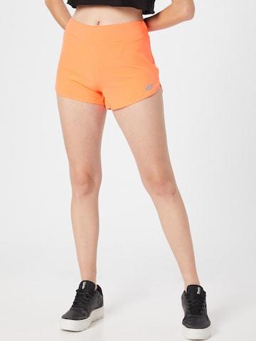 4F Sportbroek in Oranje