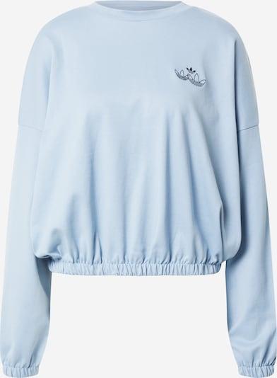 ADIDAS ORIGINALS Sweater majica u svijetloplava / crna, Pregled proizvoda