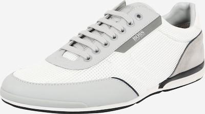 BOSS Casual Sneaker 'Saturn' in greige / hellgrau / dunkelgrau / weiß, Produktansicht