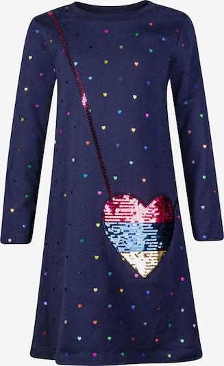 happy girls Kleid in blau / navy / gelb / mischfarben / pink, Produktansicht