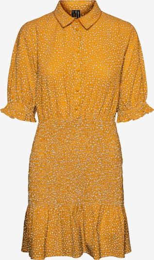 VERO MODA Košeľové šaty 'Dicthe' - oranžová / biela, Produkt