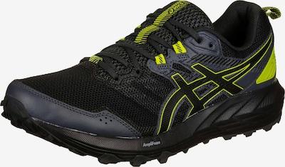 ASICS Chaussure de course en jaune fluo / noir, Vue avec produit