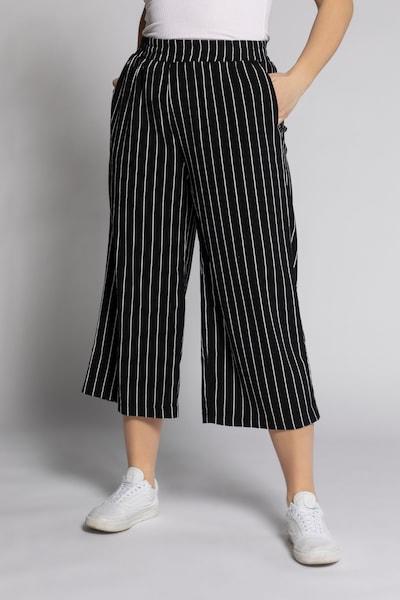 Studio Untold Pants in Black / White, View model